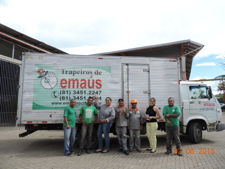 MCM SOCIAL | Doações aos Trapeiros de Emaús