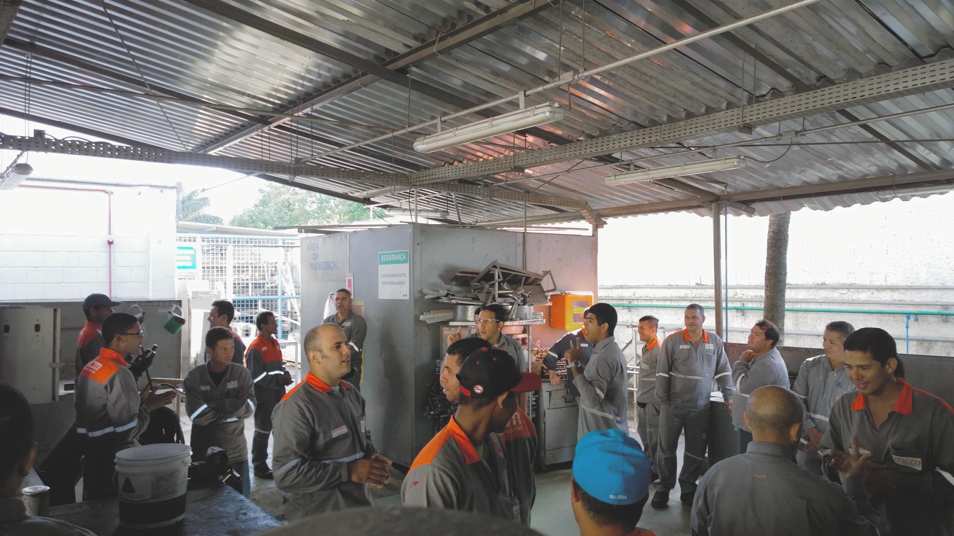 Dinâmica de grupo na Unilever Kibon
