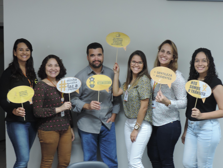 Campanha de Maio Amarelo na CAC