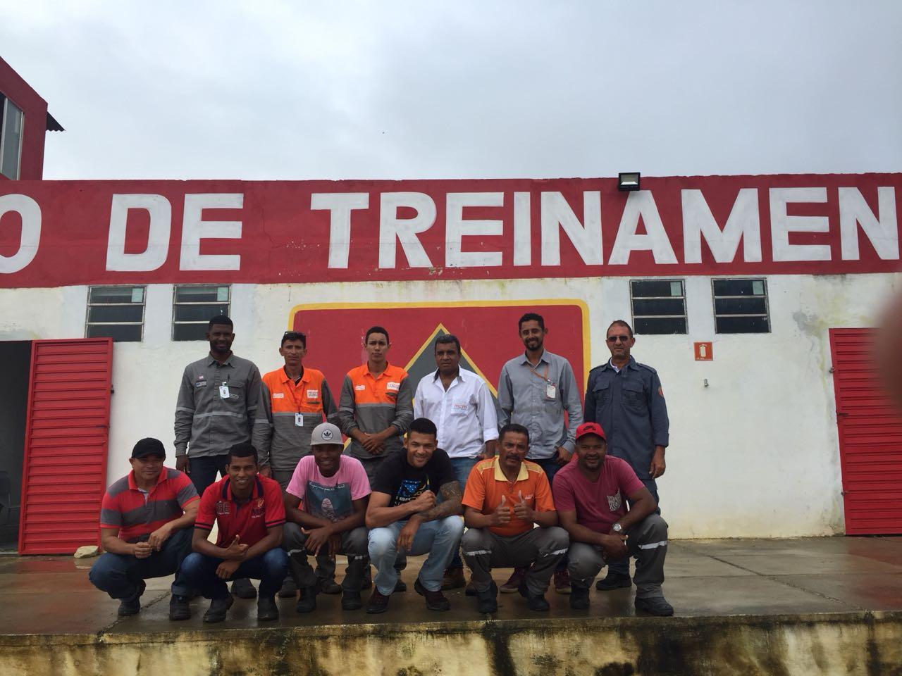 Formação da Brigada de Emergência na Veolia